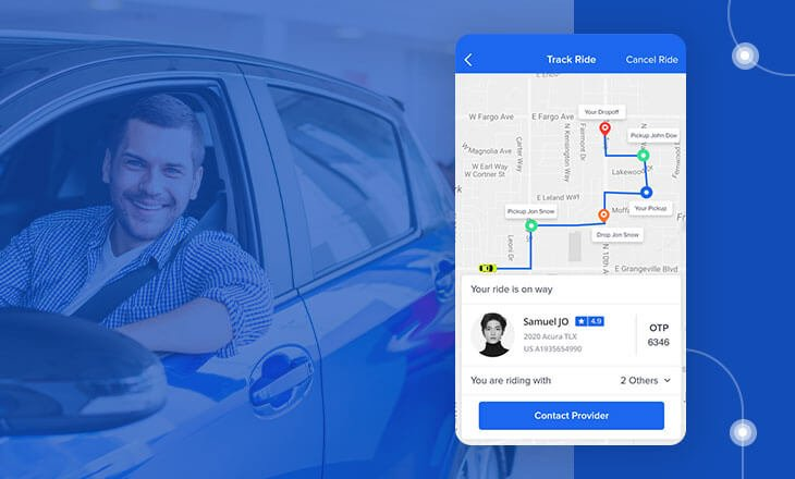 Ride Sharing App Development