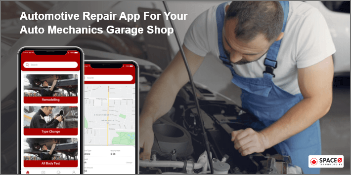 Automotive Repair App for Auto Mechanic Garage Shop
