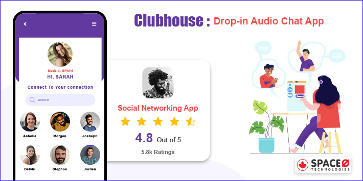 Clubhouse Invite Only Social App