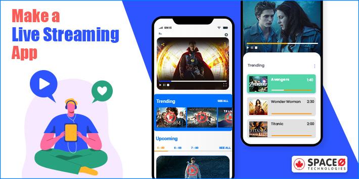 Make a Live Video Streaming App